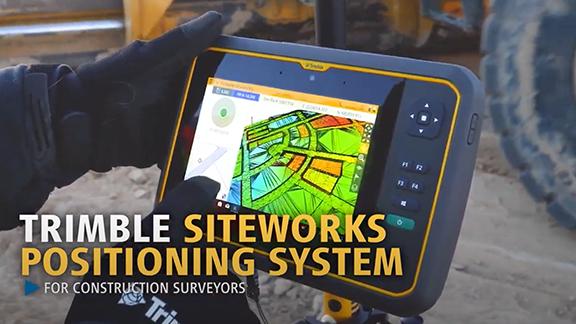 Trimble Siteworks Positioning System for Surveyors